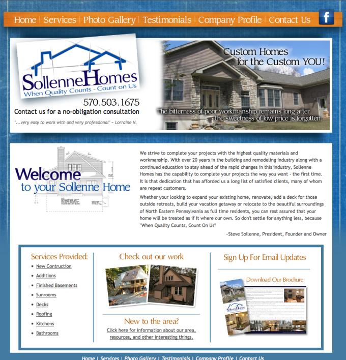 Sollenne Homes Custom Home Builder